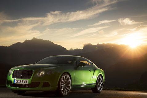 MOBIL MEWAH : Bentley Pilih Indonesia