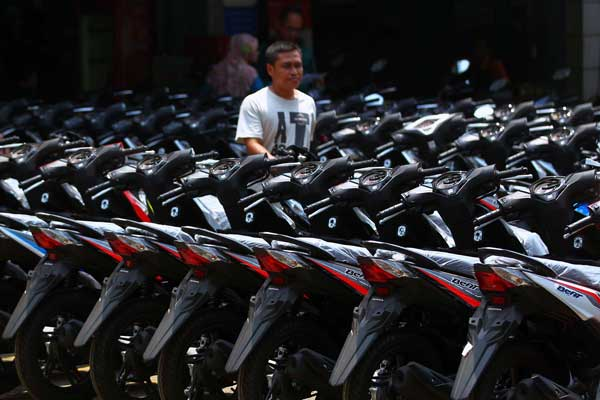 KINERJA EKSPOR : Sepeda Motor Lanjutkan Tren Positif