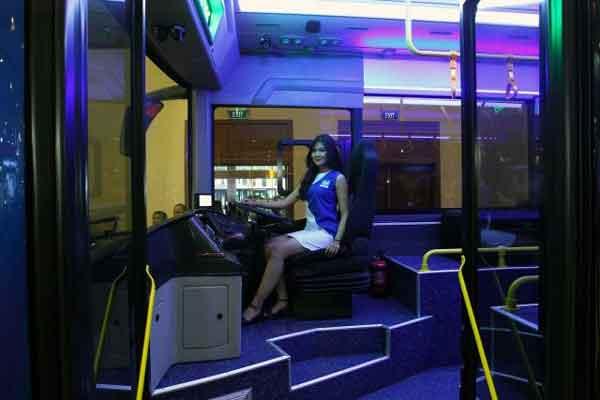 KENDARAAN BERMOTOR LISTRIK : MAB Akan Produksi 10 Unit Bus