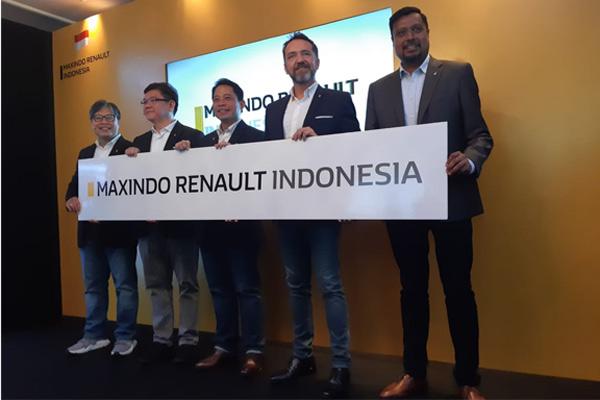 KEMITRAAN AGEN PEMEGANG MEREK : Maxindo Renault Janjikan Strategi Agresif