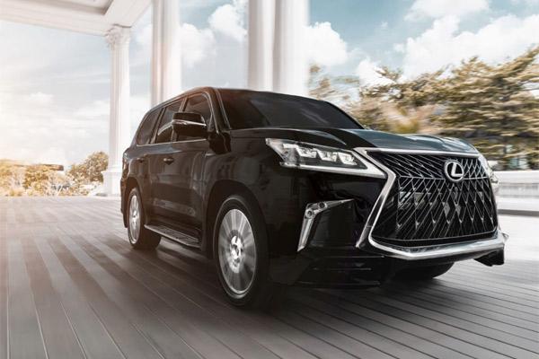 MODEL BARU SUV PREMIUM : Lexus Indonesia Hadirkan New LX 570 Sport