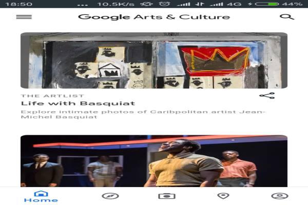 APLIKASI PENJELAJAH KARYA : Belajar Seni via Google Arts & Culture
