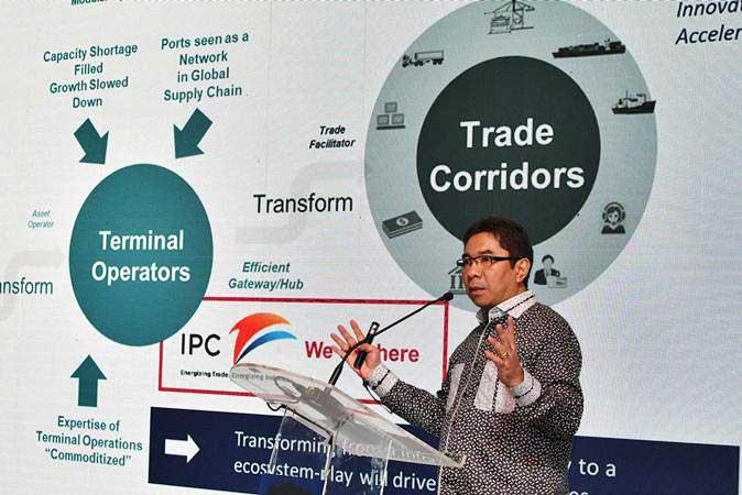 BISNIS PELABUHAN :  IPC Incar Pendapatan Rp13,5 Triliun