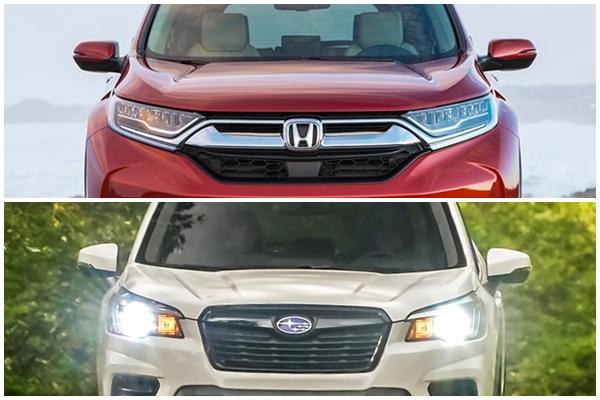 AUTOVAGANZA : Adu Ketangkasan Honda CR-V 2019 vs Subaru Forester 2019