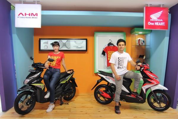 SEPEDA MOTOR : Model Beat Tulang Punggung Honda