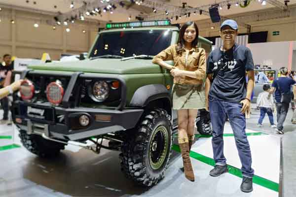 MOBIL OFF ROAD : Pesanan   Suzuki Jimny Membludak