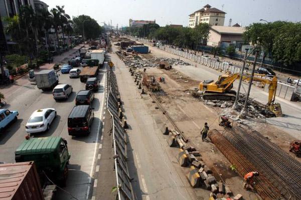 JAKARTA OUTER RING ROAD 2 : Tol Cimanggis-Cibitung Selesai Pertengahan 2020