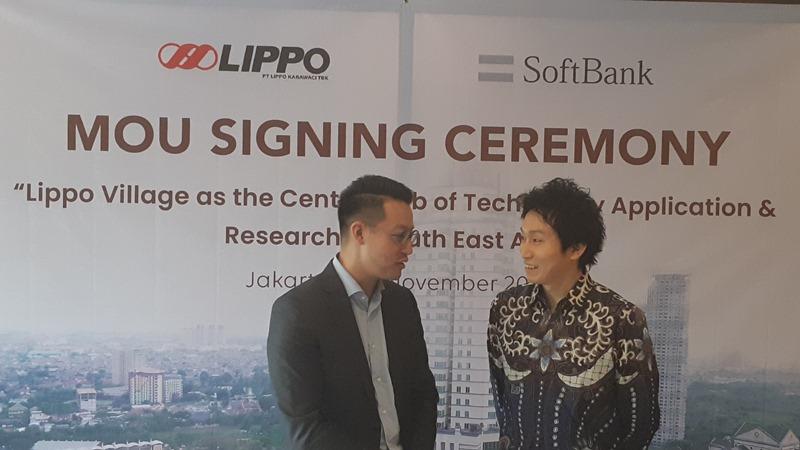 DIGITALISASI REAL ESTAT : Lippo Gandeng Softbank Kembangkan Solusi AI