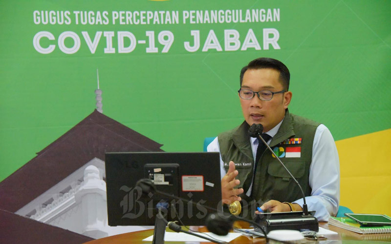 PENANGANAN COVID-19 : Inovasi Jawa Barat Dijadikan Contoh