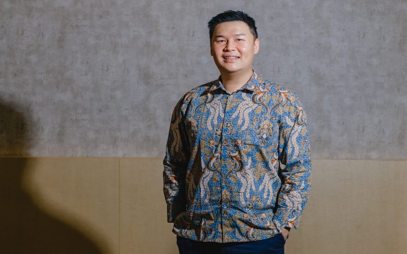 PRESIDEN DIREKTUR PT MARK DYNAMICS INDONESIA TBK. : Bisnis Bukan Untung Semata