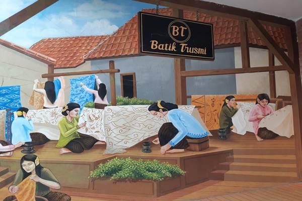 WABAH COVID-19 JABAR : Kala Sentra Batik Berhenti Sementara