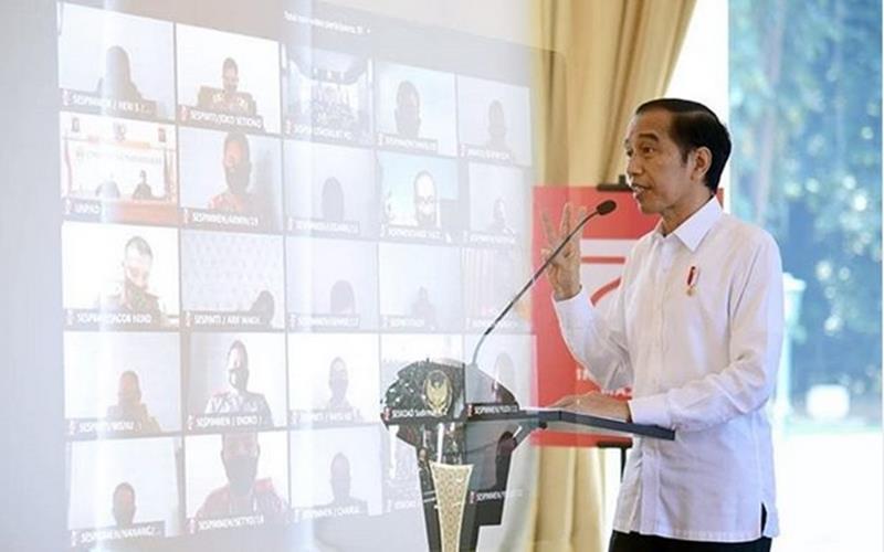 PERTUMBUHAN EKONOMI DAERAH : Jokowi Minta Belanja APBD digenjot