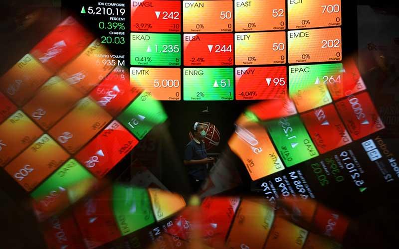 PERDAGANGAN SAHAM : Investor Percaya Diri, Transaksi Broker Meninggi