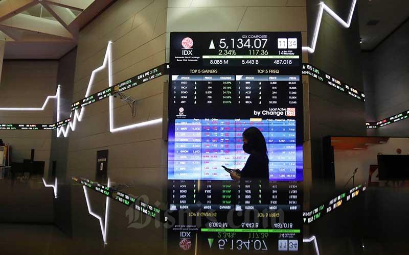 TREN PASAR SAHAM : Investor Domestik Percaya Diri