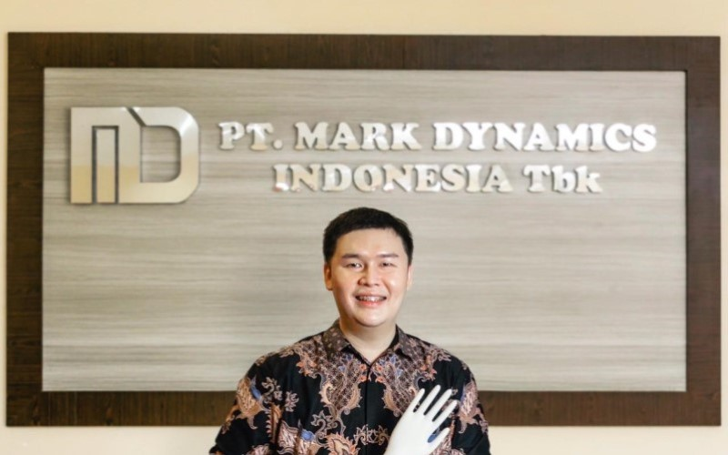 PRESIDEN DIREKTUR PT MARK DYNAMIC INDONESIA TBK. RIDWAN GOH : Tumbuh di Tengah Pandemi