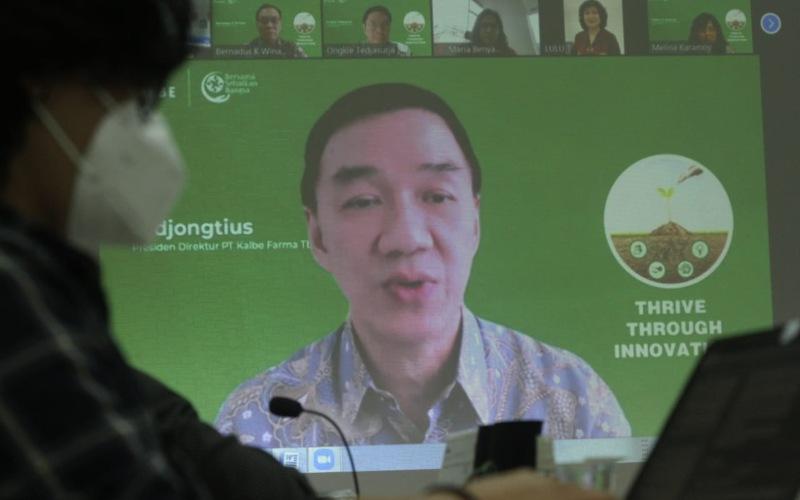 PEMBANGUNAN PABRIK  : Kudeta Tak Ganggu KLBF