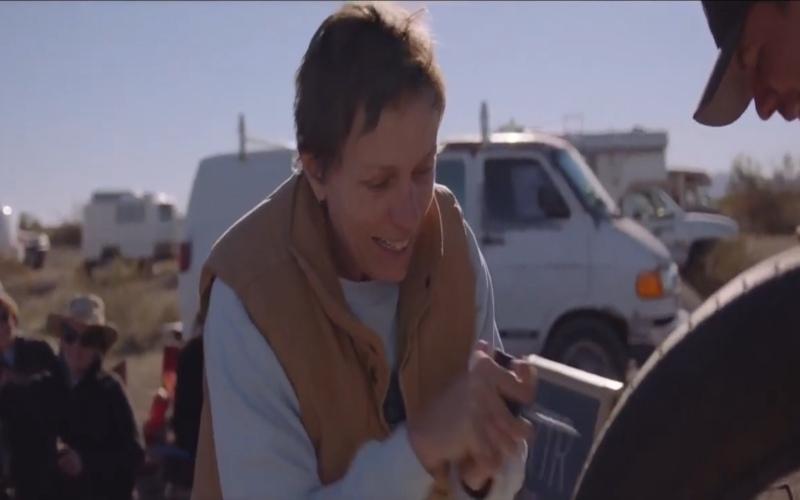 FILM FIKSI DOKUMENTER : Nomadland & Kehidupan Nomaden Kontemporer Amerika