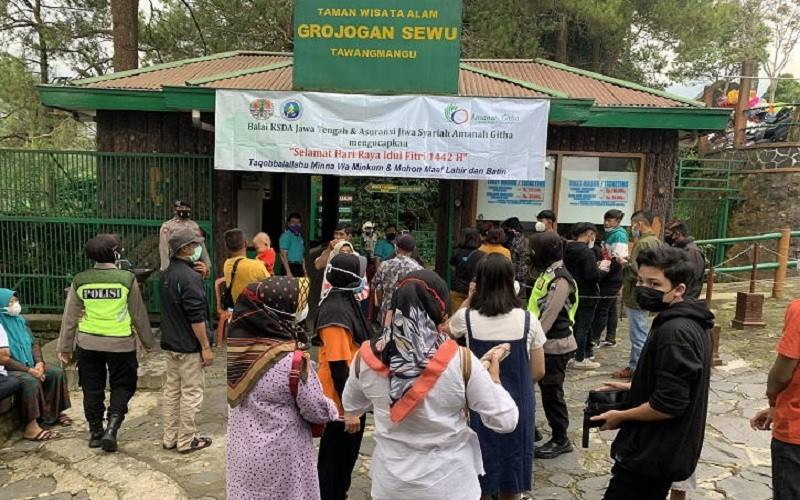 Zona Merah, Enam Kabupaten Tutup Objek Wisata