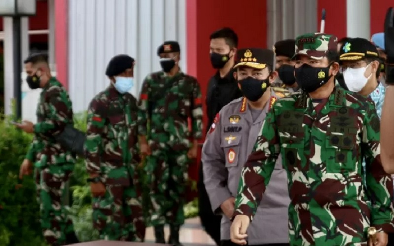 RASTER : Daerah di Jateng Libatkan TNI-Polri
