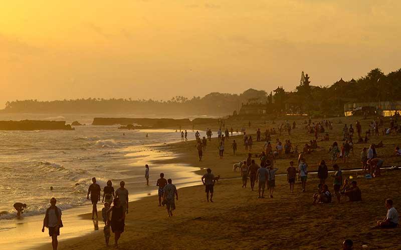 Foto Foto Membangunkan Pariwisata Bali Yang Sedang Mati Suri
