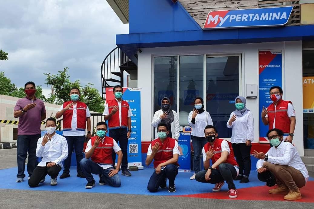 Peresmian Layanan Pelanggan My Pertamina di Yogyakarta