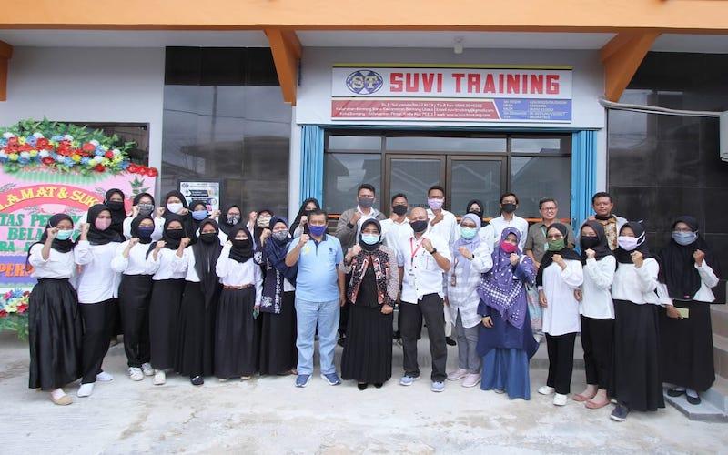 Dukung peningkatan SDM lokal, Pupuk Kaltim bangun sarana belajar LPK Binaan