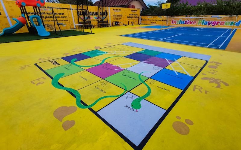 Ciptakan Lingkungan Ramah Anak dan Disabilitas, PKT Resmikan Inclusive Playground di Kampung Aren