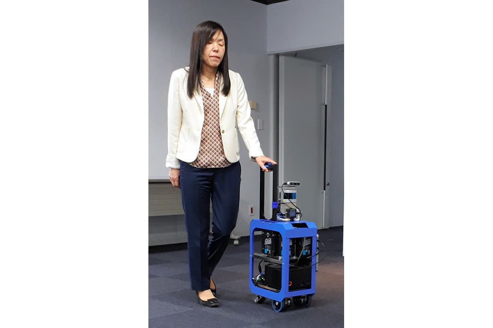 koper pintar untuk tunanetra chieko asakawa, koper AI