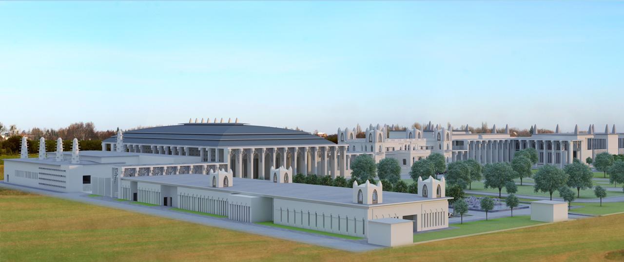 Istana Kepresidenan Niger. Proyek ini merupakan proyek pertama WIKA di Republik Niger. WIKA bertanggung jawab menyelesaikan empat bangunan  ballroom, head of state, service building, pavillion of president. Proyek ini dirampungkan selesai pada Februari 2021.//WIKA