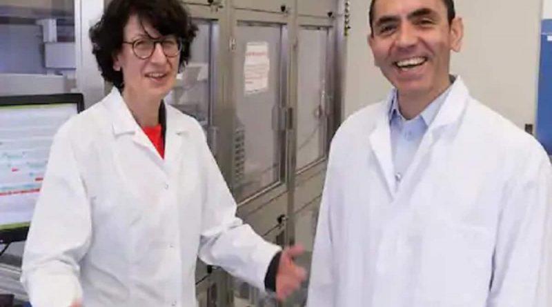 CEO BioNTech, Ugur Sahin dan tureci pencipta vaksin corona