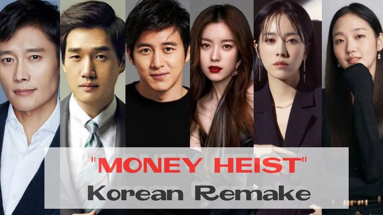 pemain film money heist korea