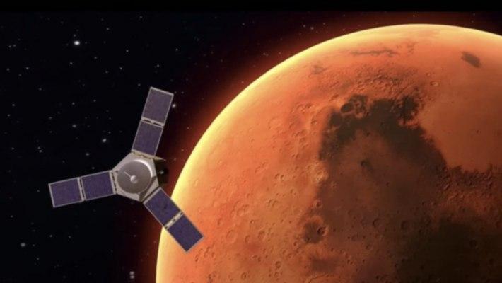 pesawat luar angkasa arab uea mendarat di mars
