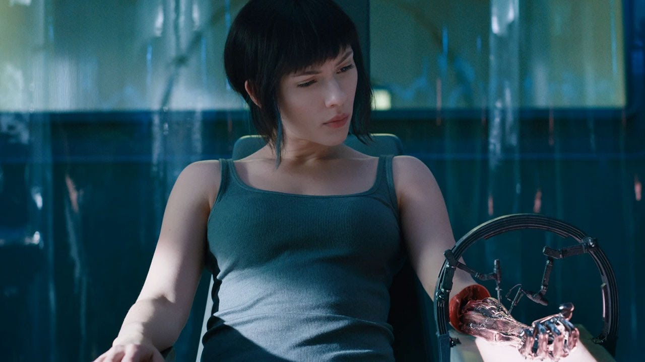 sinopsi film Ghost in the Shell cerita tentang