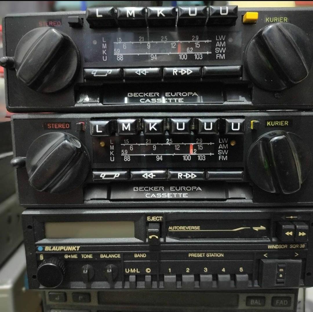 radio tape mobil jadul kuno