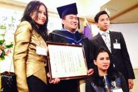 Pidato Wisuda Universitas Chuo: Rachmat Gobel Bilang Perusahaan Besar Mulai Dari Langkah Sederhana