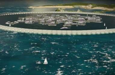 Polinesia Akan Bangun Kota Terapung di Tengah Samudra Pasifik