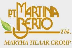 Kinerja Kuartal I/2017: Laba Martina Berto Melorot 89%