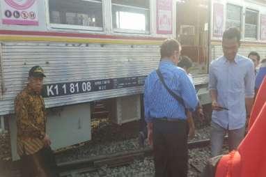 Kereta Anjlok di Manggarai, Perjalanan KRL Bogor & Bekasi Terganggu