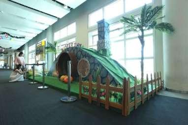 Nuansa Kelinci dan Telur Hiasi Bandara I Gusti Ngurah Rai