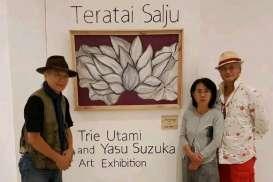 Kolaborasi Seniman Jepang-Indonesia Ditampilkan di Ubud Bali