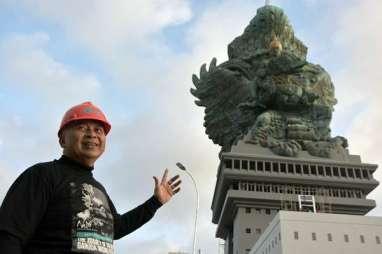 Patung GWK Rampung, Nuarta Syukuran 'Swadharma Ning Pertiwi'