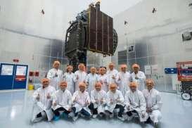 LAPORAN DARI FLORIDA AS: Satelit Merah Putih Sukses Mengangkasa
