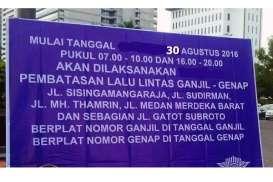 Sistem Ganjil Genap Bukan Solusi Final bagi Jakarta