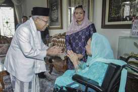PILPRES 2019: Ma'ruf Amin Dipuji, Indikasi Yenny Wahid Merapat ke Jokowi?