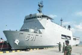Jelang Pertemuan IMF-WBG, 2 Kapal Perang TNI-AL Debarkasi di Benoa