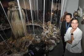 Sri Mulyani Buka Pameran Seni Rupa Art Bali di Ajang IMF-WBG