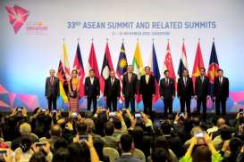 KTT ke-33 Asean: Presiden Jokowi Gelar Pertemuan Bilateral dengan PM Australia Scott Morrison