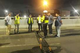 Flyover Cengkareng B Lingkar Barat Diperbaiki Dalam 8 Hari ke Depan