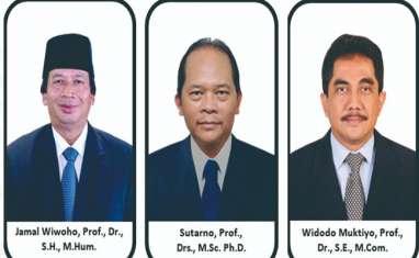 Tiga Nama Terpilih Jadi Calon Rektor UNS