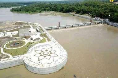 PUPR Selesaikan Pembangunan Bendung Kamijoro, Suplai Air Irigasi di Bantul Lebih Terjamin